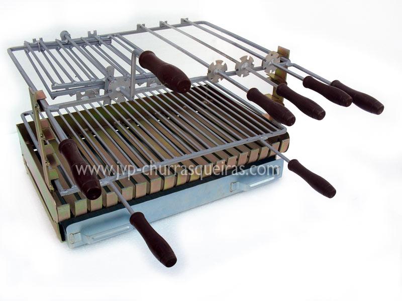 Grill avec grille, Gril en fer galvanisé, Gril en fer galvanisé pour les barbecues, Grille, Grill, Gril en fer galvanisé pour barbecue
