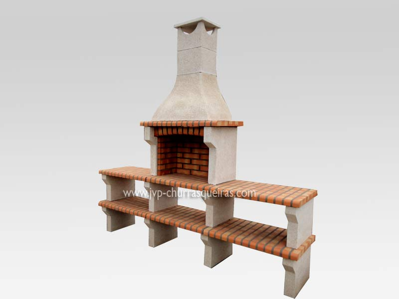 BBQ Grill 107, Manufacture Garden Brick Barbecue Grill - BBQ in refractory bricks, Brick barbecues Grill, BBQ nice price, Cheap BBQ, churrasqueiras, Outdoor Barbecue Grill, charcoal barbecue grill, outdoor barbecue grills, charcoal grill, Barbecue and Pizza Oven, Barbecue Grill, Churrasqueiras, bbq with bricks