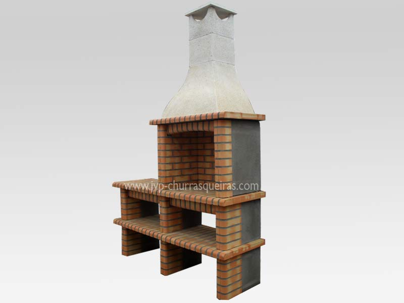 BBQ Grill 122, Manufacture Garden Brick Barbecue Grill - BBQ in refractory bricks, Brick barbecues Grill, BBQ nice price, Cheap BBQ, churrasqueiras, Outdoor Barbecue Grill, charcoal barbecue grill, outdoor barbecue grills, charcoal grill, Barbecue and Pizza Oven, Barbecue Grill, Churrasqueiras, bbq with bricks