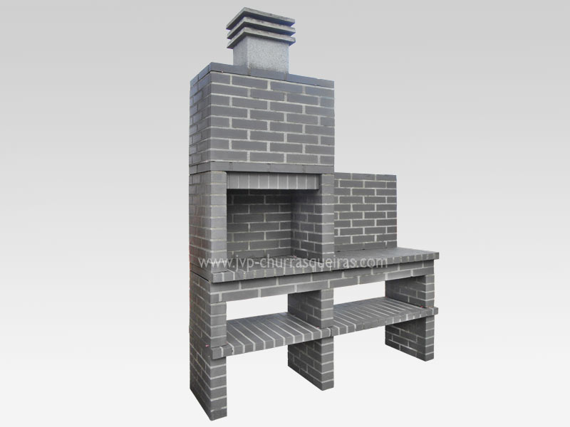 BBQ Grill 137, Manufacture Garden Brick Barbecue Grill - BBQ in refractory bricks, Brick barbecues Grill, BBQ nice price, Cheap BBQ, churrasqueiras, Outdoor Barbecue Grill, charcoal barbecue grill, outdoor barbecue grills, charcoal grill, Barbecue and Pizza Oven, Barbecue Grill, Churrasqueiras, bbq with bricks