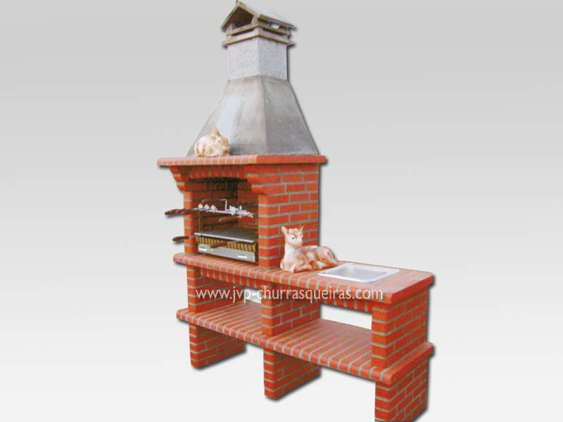 Brick Barbecue 36, Manufacture Garden Brick Barbecue Grill, BBQ in refractory bricks, Brick barbecues Grill, BBQ nice price, Cheap BBQ, churrasqueiras, Outdoor Barbecue Grill, charcoal barbecue grill, outdoor barbecue grills, charcoal grill, Barbecue and Pizza Oven, Barbecue Grill, Churrasqueiras, bbq with bricks