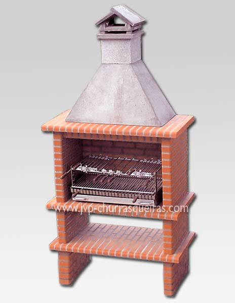 Brick Barbecue 48, Manufacture Garden Brick Barbecue Grill - BBQ in refractory bricks, Brick barbecues Grill, BBQ nice price, Cheap BBQ, churrasqueiras, Outdoor Barbecue Grill, charcoal barbecue grill, outdoor barbecue grills, charcoal grill, Barbecue and Pizza Oven, Barbecue Grill, Churrasqueiras, bbq with bricks