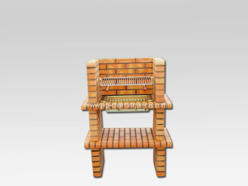 Brick Barbecue 52, Manufacture Garden Brick Barbecue Grill, BBQ in refractory bricks, Brick barbecues Grill, BBQ nice price, Cheap BBQ, churrasqueiras, Outdoor Barbecue Grill, charcoal barbecue grill, outdoor barbecue grills, charcoal grill, Barbecue, Barbecue Grill, Churrasqueiras, bbq with bricks