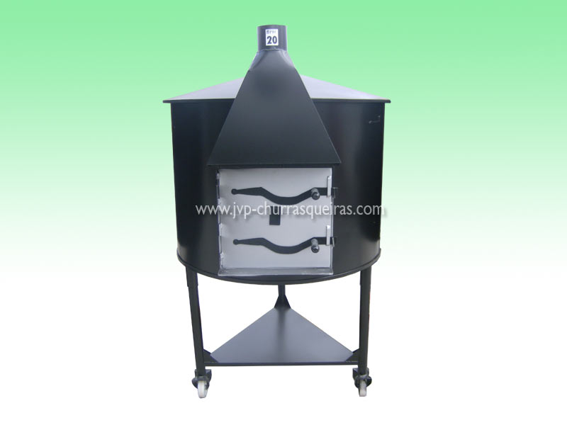 Oven 27, mobile furnaces, Clay and Metal, with chimney, Manufacture Garden Brick Barbecue Grill, Brick ovens, manufacturers, ovens manufacturer
