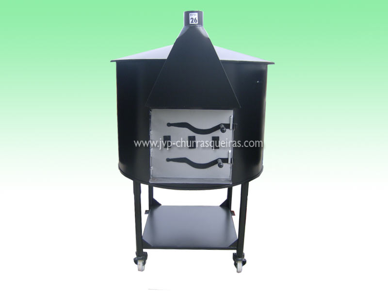 Oven 28, mobile furnaces, Clay and Metal, with chimney, Manufacture Garden Brick Barbecue Grill, Brick ovens, manufacturers, ovens manufacturer