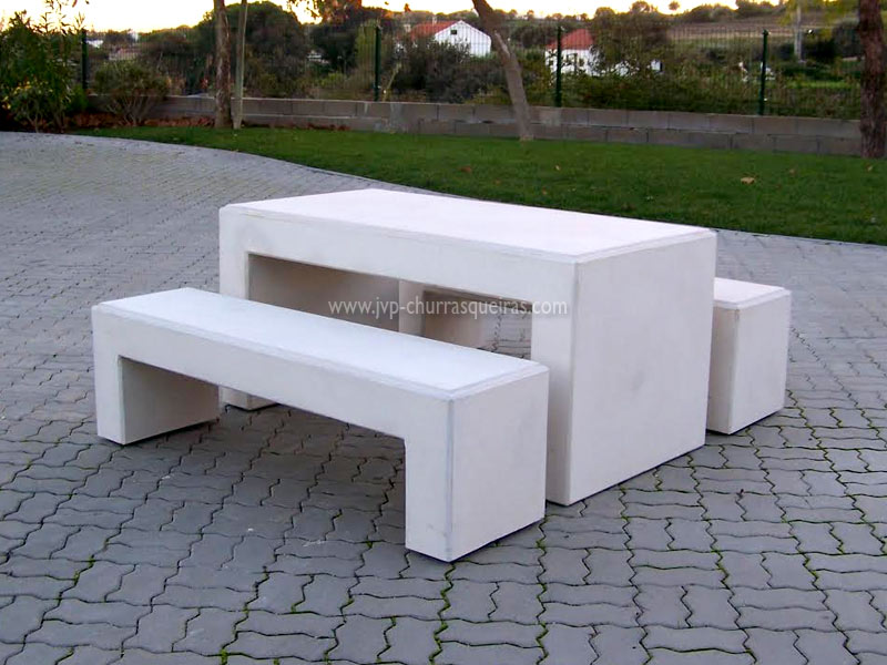 Mesas de Jardim, Mesa 103, Mesas, merendas, bancos de Jardim, mesas para parques merendas, mesas em pedra, mesas cimento, mesas em betão, mesas em pedra