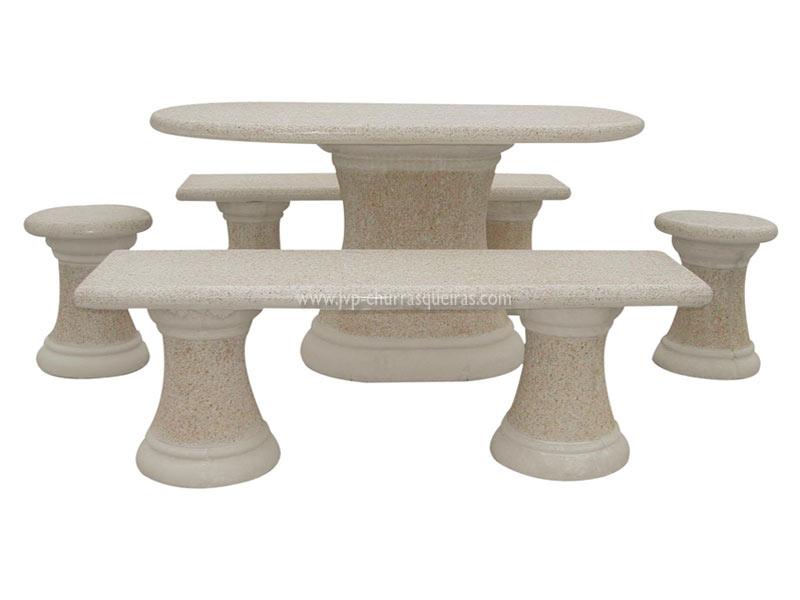 Mesas de Jardim, Mesa 107, Mesas, merendas, bancos, Mesas de betão britadas, mesas para parques de merendas, mesas britadas, mesas cimento, jardim