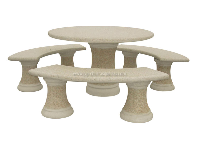 Mesas de Jardim, Mesa 108, Mesas, merendas, bancos, Mesas de betão britadas, mesas para parques de merendas, mesas britadas, mesas cimento, jardim